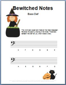 8 best Bass Clef Worksheets images on Pinterest | Music, Free ...