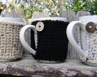 Taza de té o café acogedor en regalo oficina por KorneliasKreations