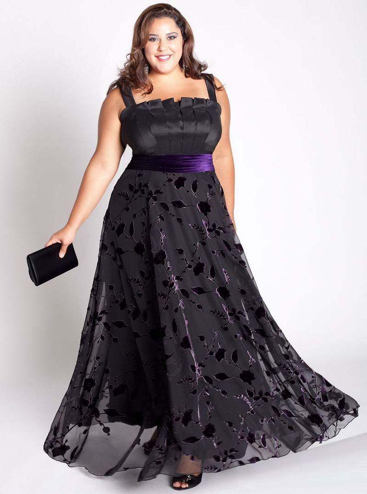 Фото толстушек красивом платье — 14