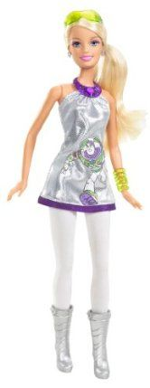 Barbie Toy Story 3 Barbie Loves Buzz Doll by Mattel. $22.95. Celebrate the Barbie fashion heritage with featured Toy Story 3 doll. Includes themed Barbie doll, brush, and backpack clip with mini-figurine of character. Inspired by Disney / Pixar's new film Toy Story 3. Sure to be a collector favorite. Relive the movie moments with feature fashion play dolls. From the Manufacturer                Barbie Toy Story 3 Barbie Loves Buzz Doll: Inspired by Disney / Pixar's new f...