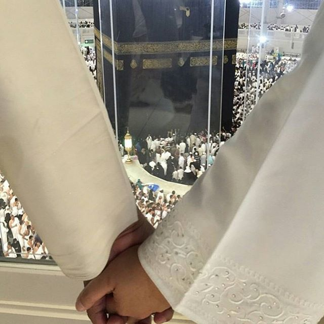 """Instagram media by bhtofficial - """"And among His signs is that He created for you mates from among yourselves that you may live in tranquility with them, and He has put love and mercy between you; Verily, in that are signs for people who reflect."""" (#Quran 30:21) #husband #wife #marriage #wedding #Makkah #Kaaba #Allah #Ramadan #makkah_life #mecca_life"""