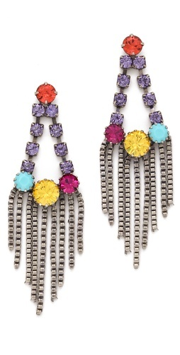 Perfect for summer parties  DANNIJO Eyre Earrings  www.shopbob.com
