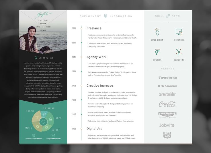 38 best cv    resume inspiration images on pinterest