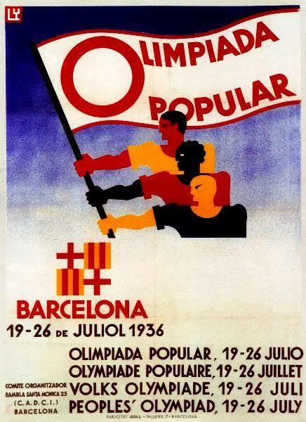 Las Olimpiadas de Barcelona que nadie recuerda, Olimpiadas Populares 1936, XI Olimpiadas de Berlín, Brigadas Internacionales, 1992,