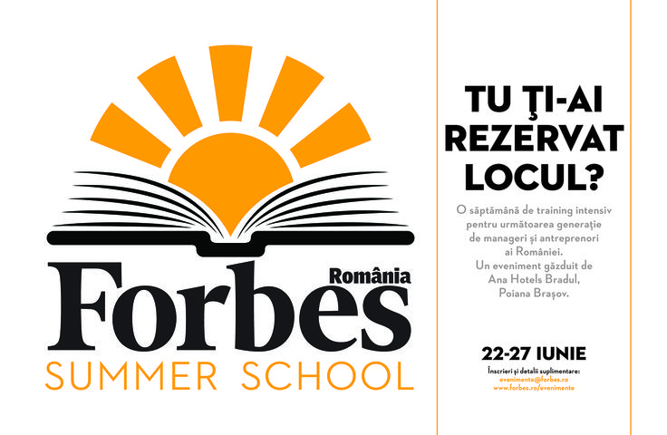 Forbes Summer School – Cei zece pași către succes