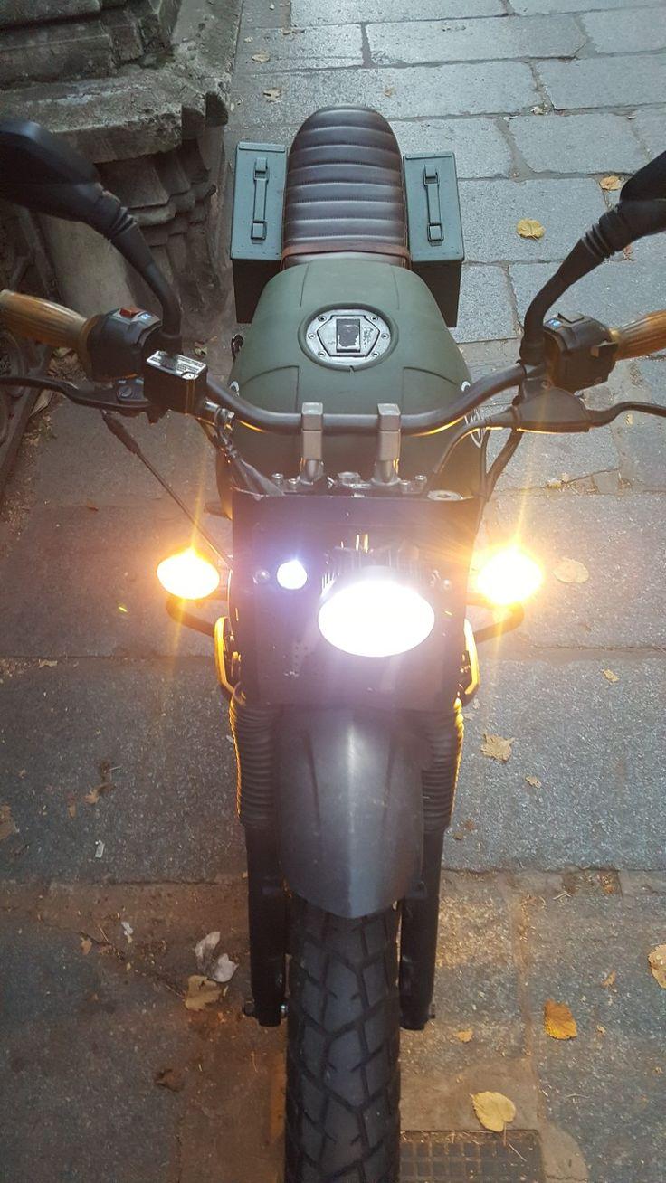 #bajaj #rouser #ns200 #cruz home made garage