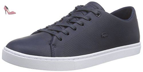 Lacoste Woman Sneaker Showcourt Lace Navy 37 - Chaussures lacoste (*Partner-Link)