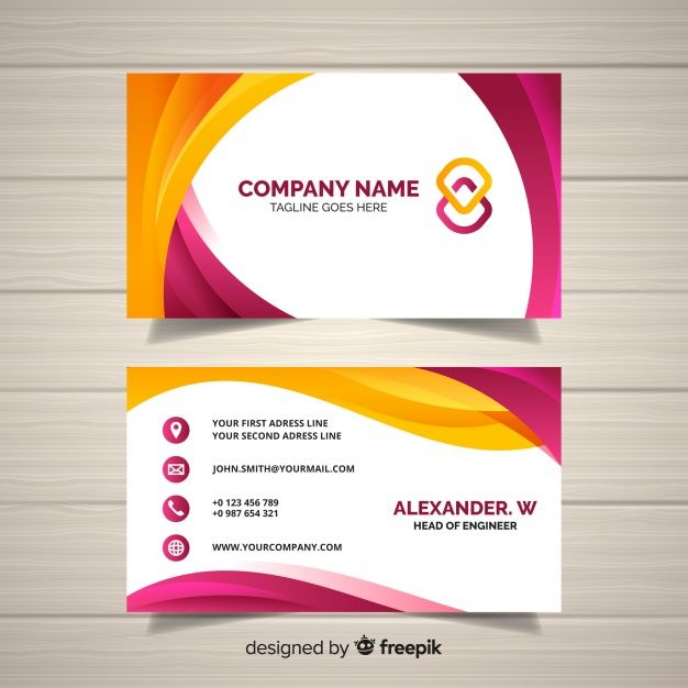 Business Card Template Vector Business Card Free Business Card Templates Business Card Maker