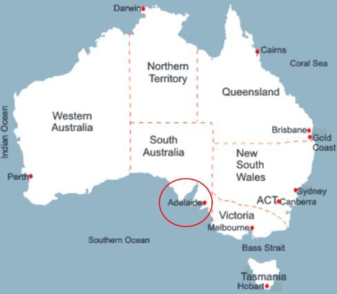 Die Besten Map Of Adelaide Ideen Auf Pinterest Australien - Map of queensland australia with cities