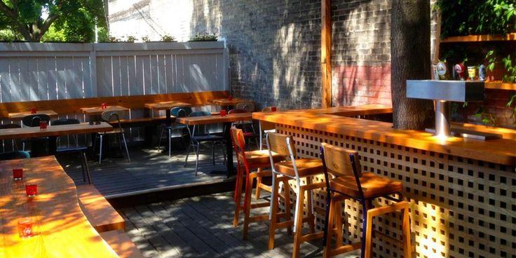 Secret patios in Toronto. Just like your own backyard