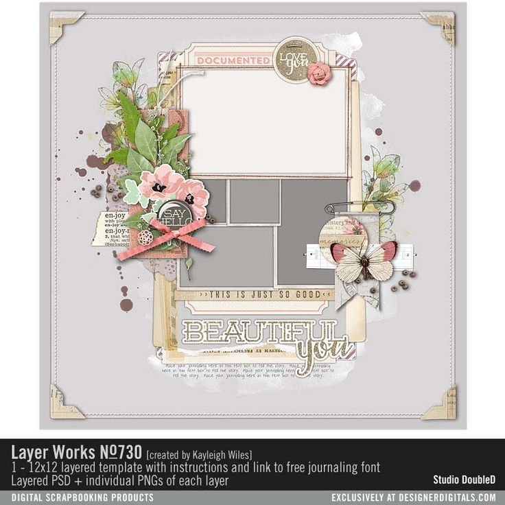 1000+ images about Scrapbook Sketches & Templates on