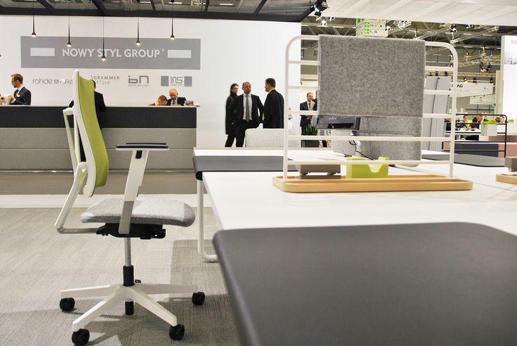 Orgatec 2014, Nowy Styl stand, BN Office Solution by WertelOberfell