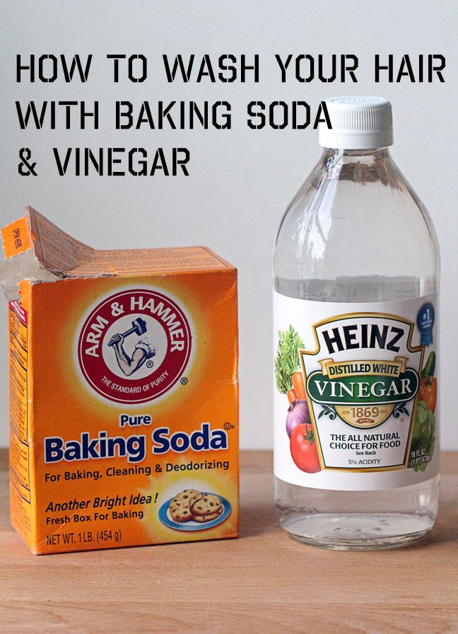 For the Love of Food: How to Wash Your Hair with Baking Soda & Vinegar