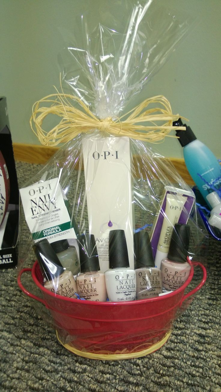 Silent Auction - OPI generously donated hundreds in products!!!