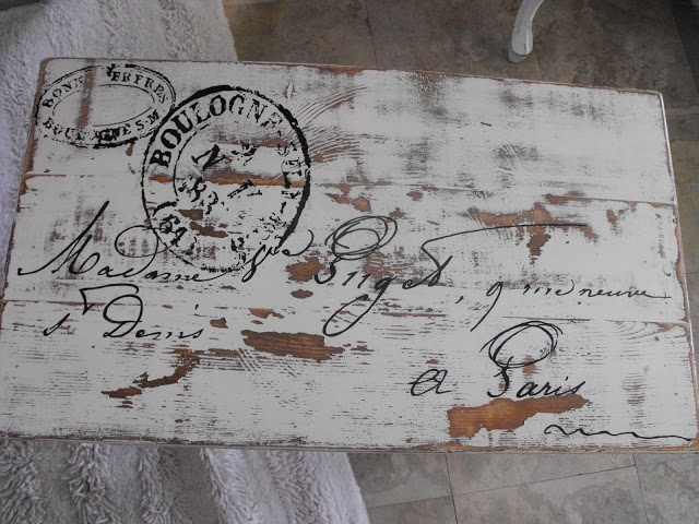 french postage table