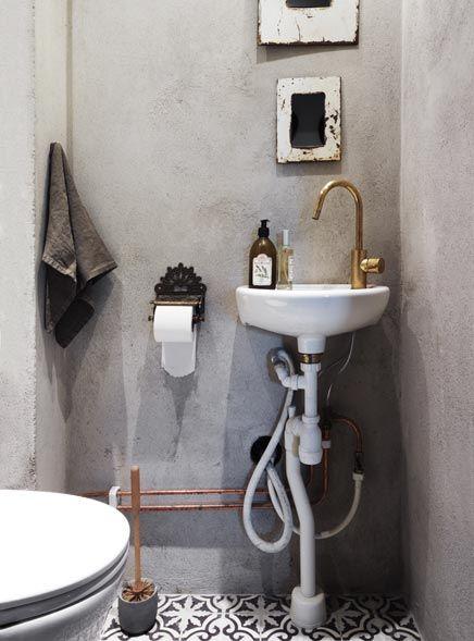 Marokkaans, Franse badkamer