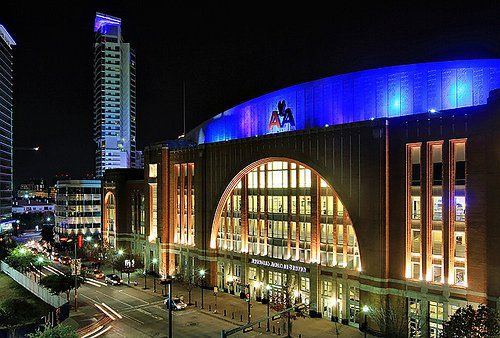 The O Jays Miami Heat And American Airlines Center On