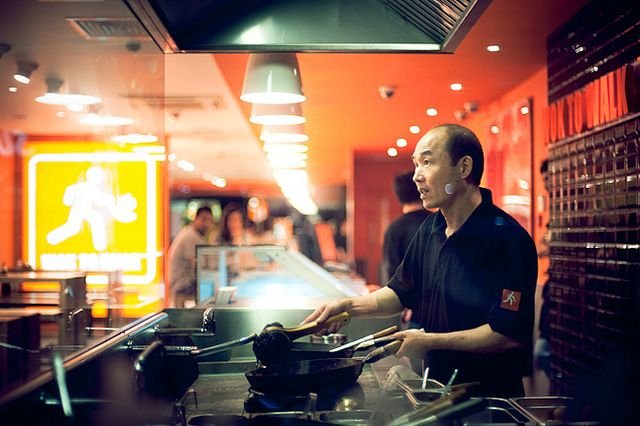 Wok to Walk by TGKW, via Flickr