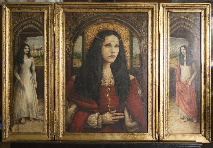 Dracula NBC - Episode 7 - Ilona's portrait