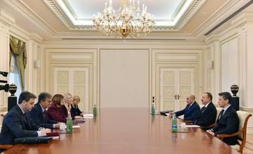 News.Az - President Ilham Aliyev receives Serbian speaker