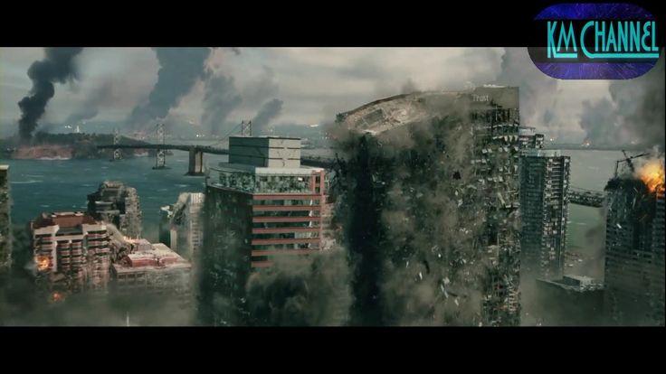 9.6 Magnitude Earthquake (scenes from the film San Andreas 2015)