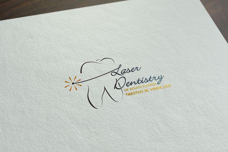 Progressive Dental Logo Design - Laser Dentistry of South Florida