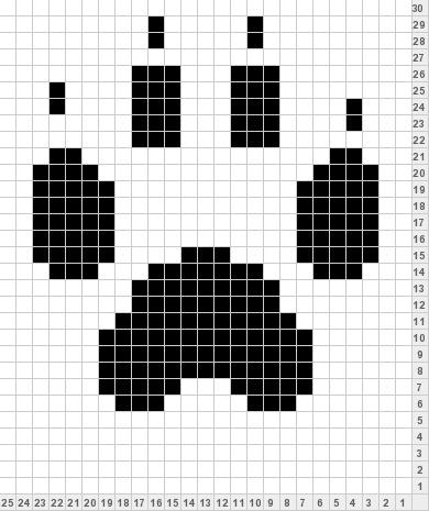 muster für stickereien color chart duplicate stitch