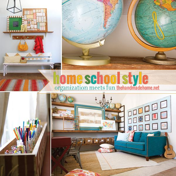 home school style (the evolution of a space) - the handmade home