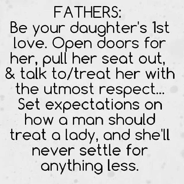 Perfect for the New daddy or dad to be! Fathers & Daughters. This is how it SHOULD be!