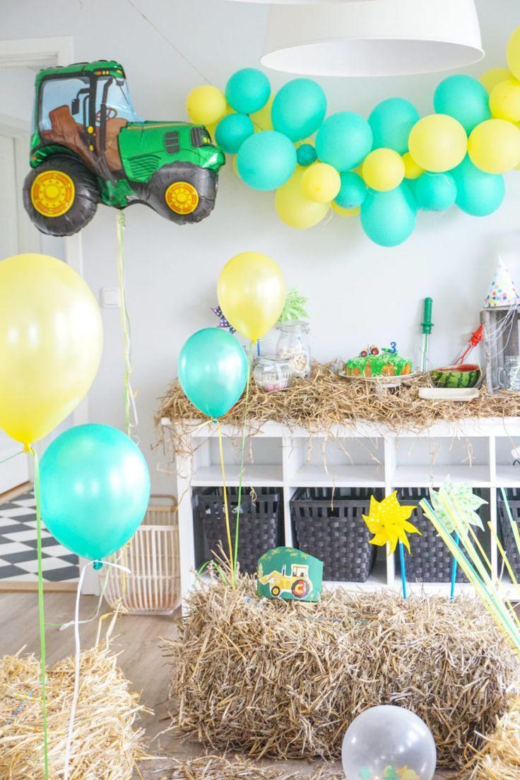 Traktor Birthday Invitation Cake Decoration Deko Hus Max 2