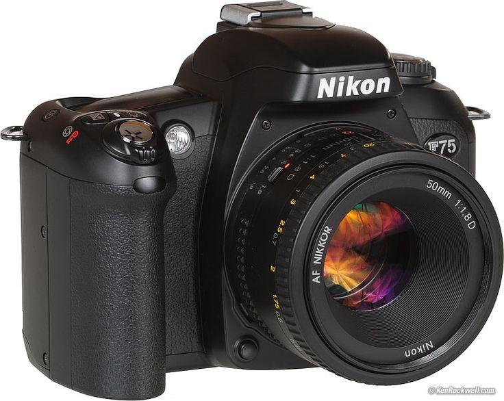 Nikon F75 SLR