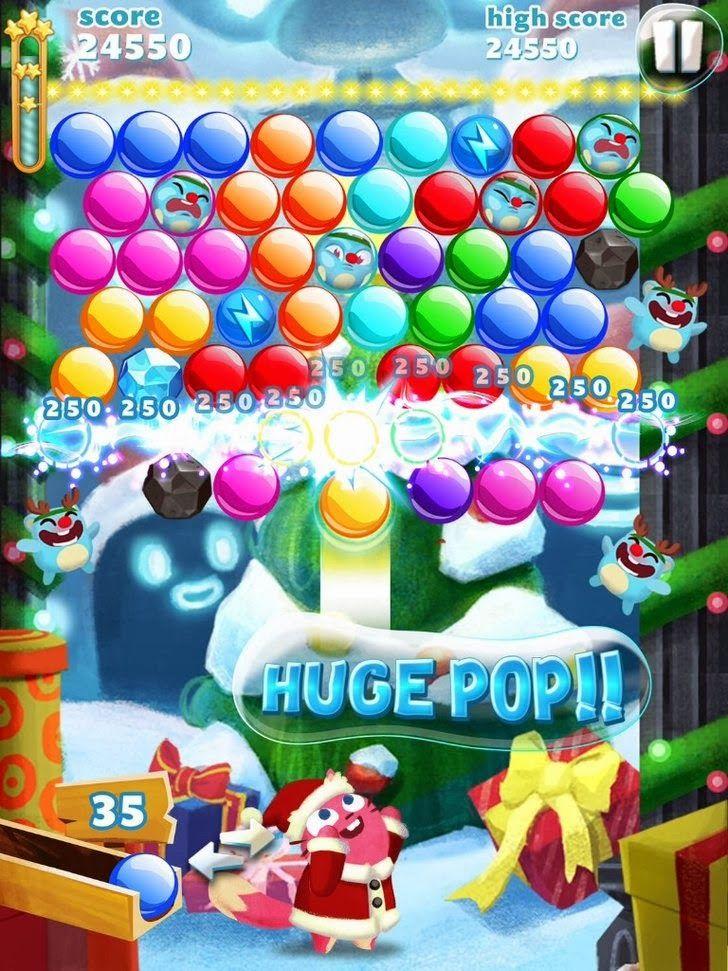 Bubble Mania: Christmas App. Elimination Puzzle Game Apps.