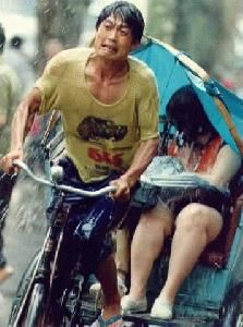 The Rickshaw-puller