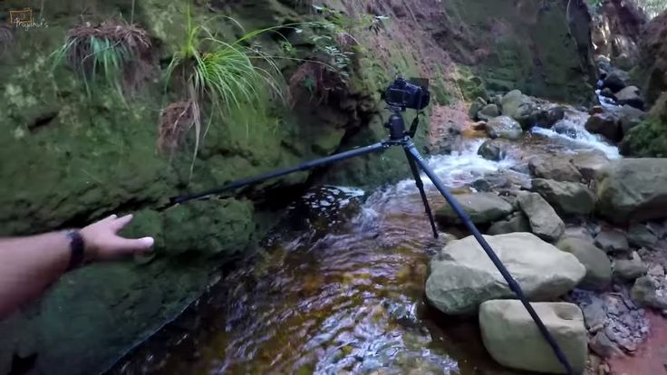 Landscape Photography Tips on Location - How to Shoot water & streams us...