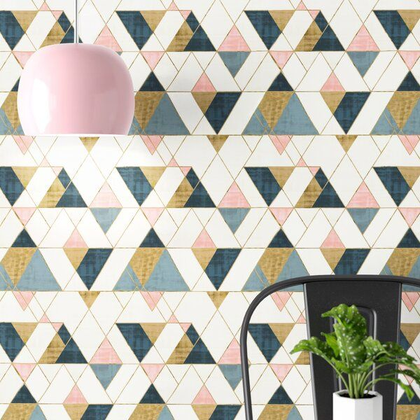 Blue Pink Gold White Wallpaper Affordable Wallpaper Blue And Gold Wallpaper Wallpaper Panels