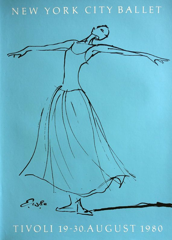 1980 New York City Ballet in Tivoli by Erik by OutofCopenhagen