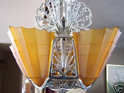 Art Deco Dining Room Chandelier