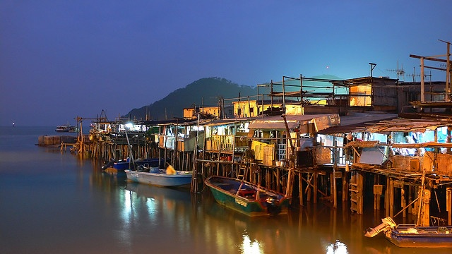 Tai O, fishing village - Hong Kong