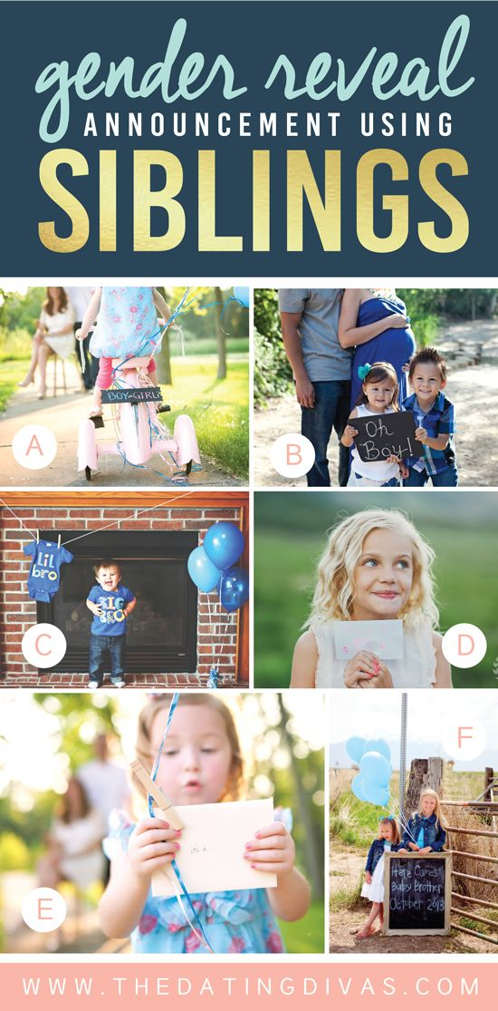 100 Gender Reveal Announcement Ideas