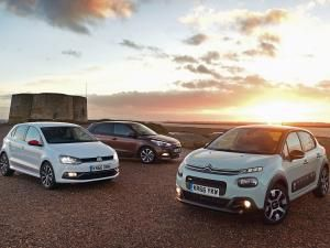 Citroen C3 vs Hyundai i20 vs Volkswagen Polo