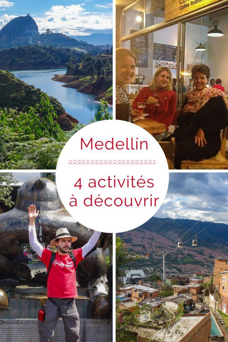 De ville la plus dangereuse du monde et de capitale de la cocaïne, Medellín est désormais devenue une ville plaisante ou il fait bon vivre et être un touriste. Voici 4 activités à découvrir à Medellín.