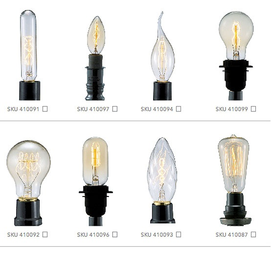 #Barreveld > Lighting > Bulbs > Various: Candalabra, Traditional & Classic :: ba…