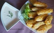 Zobacz zdjęcie Szybkie bułeczki z farszem a'la kebab i sosem czosnkowym