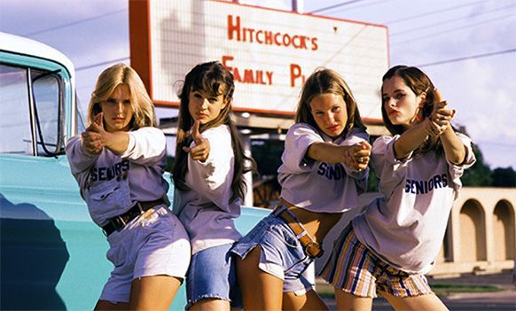 "Dazed & Confused: ""Wipe that face off your head, bitch."" Just love this movie"