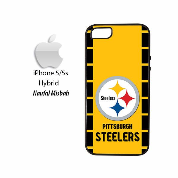 Pittsburgh Steelers Custom #2 iPhone 5/5s HYBRID Case Cover