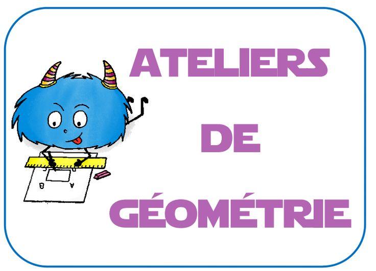 ateliers de géométrie : jeux et matériel montessori