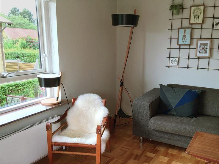 Ka XL and Ka S Lamp. Alan's house!