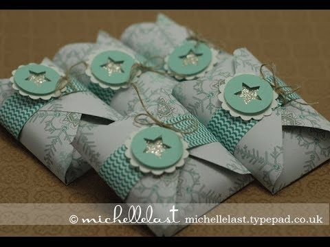 Independent Stampin Up UK Demo Michelle Last using envelope punch board - YouTube
