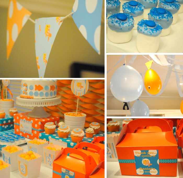 50 best Goldfish Birthday Party Ideas images on Pinterest Goldfish