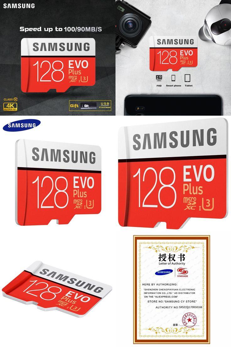 [Visit to Buy]  SAMSUNG Micro SD card Memory Card EVO+ Plus 256GB 128GB 64GB 32GB 16G Class10 TF Card C10 sim card 100MB/S SDHC/SDXC UHS-I128gb #Advertisement